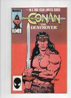 CONAN the DESTROYER #1 2, FN/VF, Robert Howard, 1985, more in store
