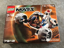 Lego Space Life on Mars T3-Trike 7312 Retired New & Unopened Set! Free Shipping