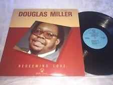 BLACK GOSPEL - DOUGLAS MILLER - REDEEMING LOVE -GOSPEARL RECORDS LP