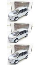 """Lot 3 Peugeot 807 Gris 1/64 """"3 Inche"""" Diecast NOREV Produit NEUF !!"""