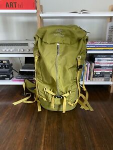 Arcteryx Miura 50L Climbing Backpack with Rope Bag