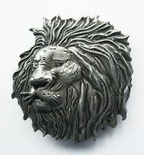 NEW LION HEAD WILD ANIMAL AFRICA SAFARI 3-D BELT BUCKLE