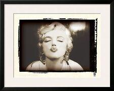 Marilyn Monroe Retrospective I Framed Art Poster Print, 35x28