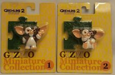 GREMLINS : 2 GIZMO CARDED FIGURES FROM GREMLINS II MADE IN 2000 BY JUN PLANNING