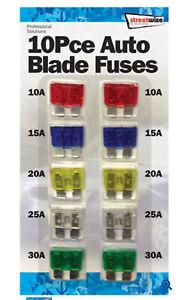 Caravan/Motorhome Blade Fuses Multi Pack Fuse Set
