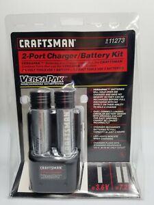 Craftsman 2 Port Charger & Battery Kit VersaPak