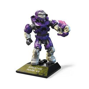 Mega Construx Halo Infinite Spartan Mark VII Purple Building Set NEW IN STOCK