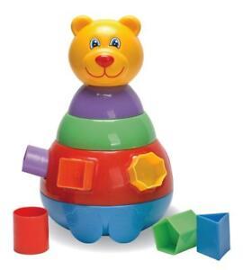Fun Time Teddy The Bear Shape Sorter 12 MTHS+ GREAT GIFT [3897] CLEARANCE WIGIG