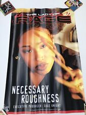 Vintage The Lady Of Rage Necessary Roughness Death Row promo rap poster 1996