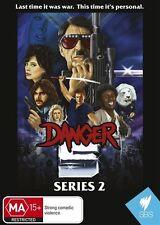 Danger 5 : Series 2 (DVD, 2015) New & Sealed