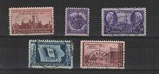 U.S.A. États-Unis 1946 5 timbres oblitérés  /T2029