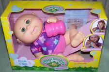 Cabbage Patch Kids Megan Vienna Drink & Wet Newborn Doll May 25th New