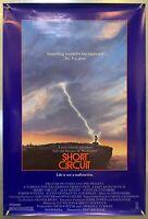 NICE! Short Circuit Movie Poster Original 27x40 Rolled One Sheet 1986 - 860054-6