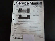 Original Service Manual Technics  SL-CH750