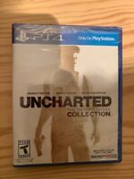 PLAYSTATION 4 PS4 GAME UNCHARTED THE NATHAN DRAKE COLLECTION NEW AND SEALED