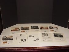 BALDWIN PIANO  9  NATIONAL GEOGRAPHIC ADS VINTAGE ORIGINAL WHITE