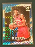 2017-18 Donruss Optic Prizm Rookie Checkerboard OG Anunoby Raptors Rc Nba1