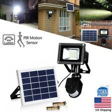Solar Power Flood Spot Light Outdoor Motion Sensor Waterproof IP65 Garden Lamp