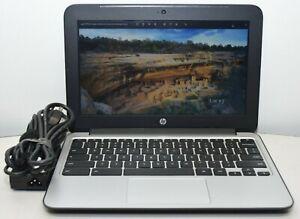 """HP Chromebook 11 G3 Celeron N2840 2.16GHz 4GB RAM 16GB SSD 11.6"""" HDMI"""