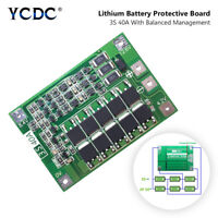 3S 12.6V 40A LI-ION LIPO BATTERY PROTECTION BOARD 18650 CHARGER AUTO RECOVERY 1