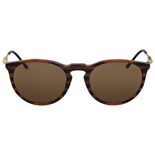 Versace Brown Round Sunglasses