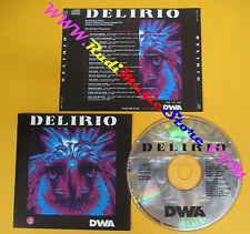 CD Compilation Delirio Data Drama Rave Boys Terra W.A.N. no lp mc vhs dvd( C20)