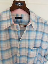 Mens BURBERRY LONDON by BURBERRY short sleeve size large. RRP £145.