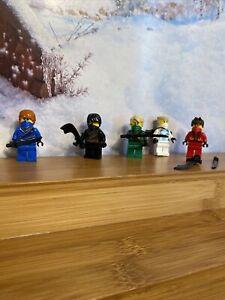 LEGO NINJAGO LOT of 5 minifigure SET