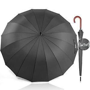 Royal Walk Parapluie Automatique pour Homme et Femme Résistant aux Vent Solid...