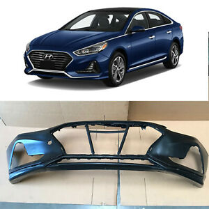 Primed Front Bumper Cover OEM Factory 86511-C2AA0 for 2018 2019 Hyundai Sonata