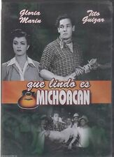 QUE LINDO ES MICHOACAN (1943) GLORIA MARIN NEW DVD