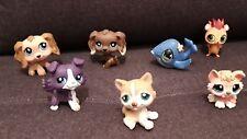 Littlest Petshop Lot 7 Figurines LPS