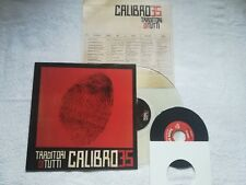 CALIBRO 35-Clear-FIRST PRESS LP 33 giri Traditori di Tutti + Lp 45 giri VERY LTD