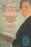 Lempriere's Dictionary : A Novel by Norfolk, Lawrence
