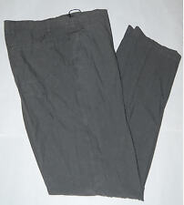 Pantalone uomo TAGLIE FORTI taglia 61classico pura lana jaspè calibrato marrone