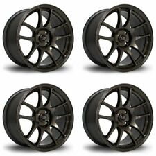 4 x Rota Torque Gunmetal Alloy Wheels 17x8 Inch ET35 5x114 PCD 73mm Centre Bore