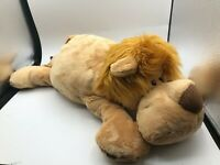 NICI Lion Lying Wild Friends Plush Kids Soft Stuffed Toy Animal Doll Teddy Bear