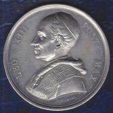 C1 VATICAN Medaille PAPALE Leon Leo XIII CHRISTO SALVATORE 1900 BIANCHI SIRLETTI