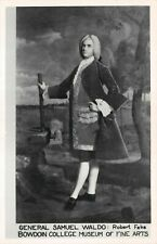 "(571)  Rare Vintage Postcard Portrait of ""Gen. Samuel Waldo"" by Robert Feke"