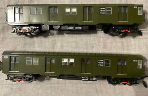 Lionel New York NYC R-27 Subway MTA TA Transit Authority 2 Car Add On Pack 18378