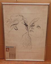 tres rare Renato Guttuso authentique litografia 50.8cm x69.5 cm signé en relief