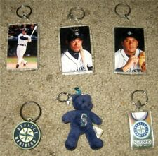 6 Different Seattle Mariners Key Chains
