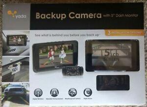 """YADA Backup Camera with 5"""" Dash Monitor"""