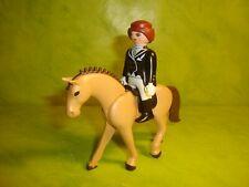 Playmobil : cavalière Playmobil, cheval horse