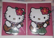 Papyrus brand Beautiful Hawaiian Hello Kitty  Pack of 2 Blank Cards