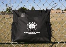 BALL BAG-SOFTBALL GAME BALL BAG-BLACK