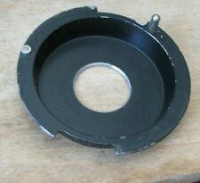 """De Vere recessed enlarger mount 4.5"""" 114mm flange m39 thread hole 18mm deep"""