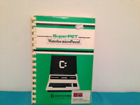 Commodore superPET warterloo microPASCAL tutorial & reference manual