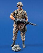 Verlinden 120mm (1/16) US Soldier w/M60 82nd Airborne Division Desert Shield 543