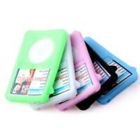 4 Colors Rubber Silicone Gel Case Cover Skin For Apple iPod Classic 80GB DLUK